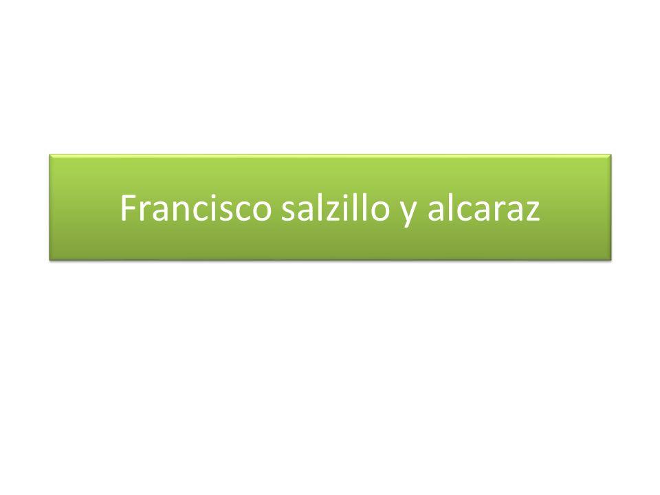 Francisco salzillo y alcaraz