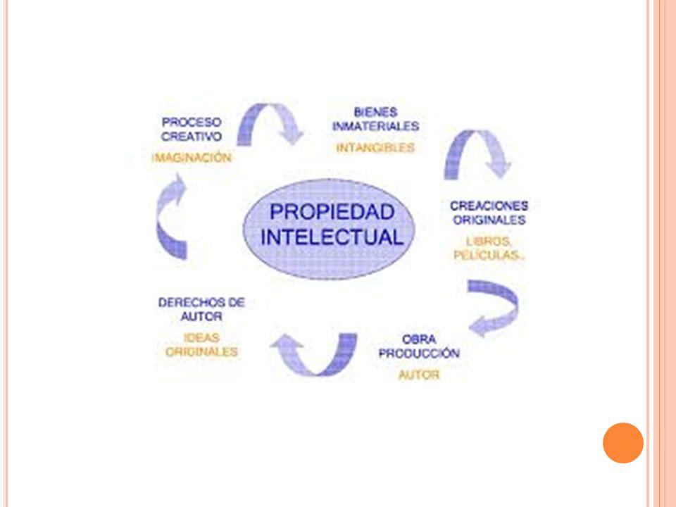 L EY DE LA PROPIEDAD INTELECTUAL.Art. 1- Protección Estatal y ámbito de la propiedad intelectual.