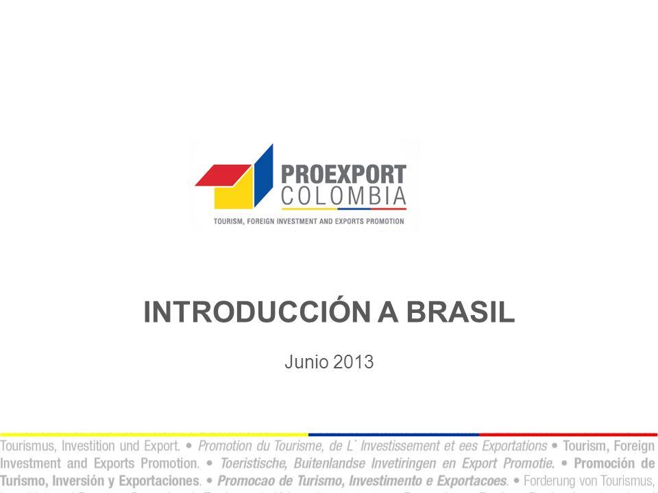 INTRODUCCIÓN A BRASIL Junio 2013