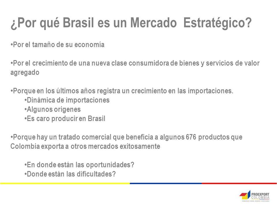 ¿Por qué Brasil es un Mercado Estratégico.