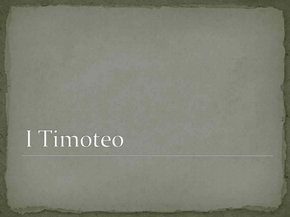 1.El saludo indica que la carta es para Timoteo. 2.
