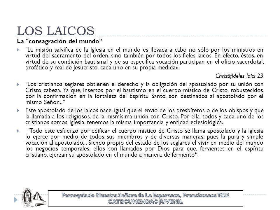 LOS LAICOS La