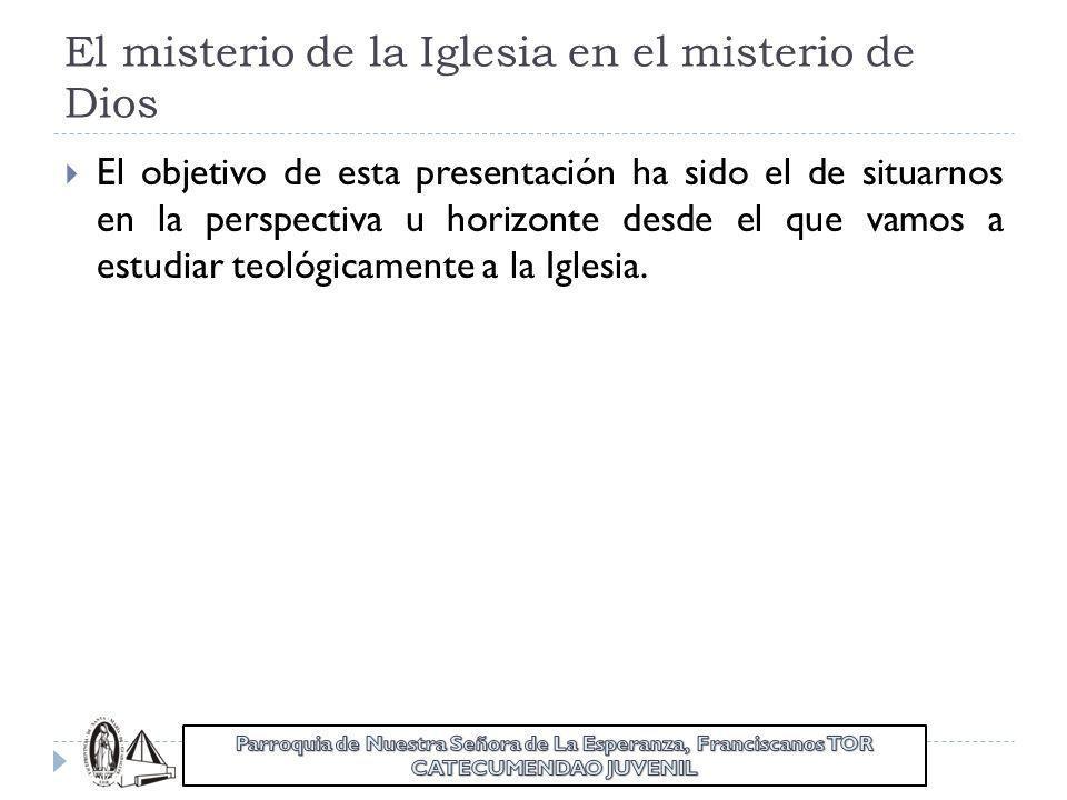 LA IGLESIA, PUEBLO DE DIOS Y CUERPO DE CRISTO TEMA 5