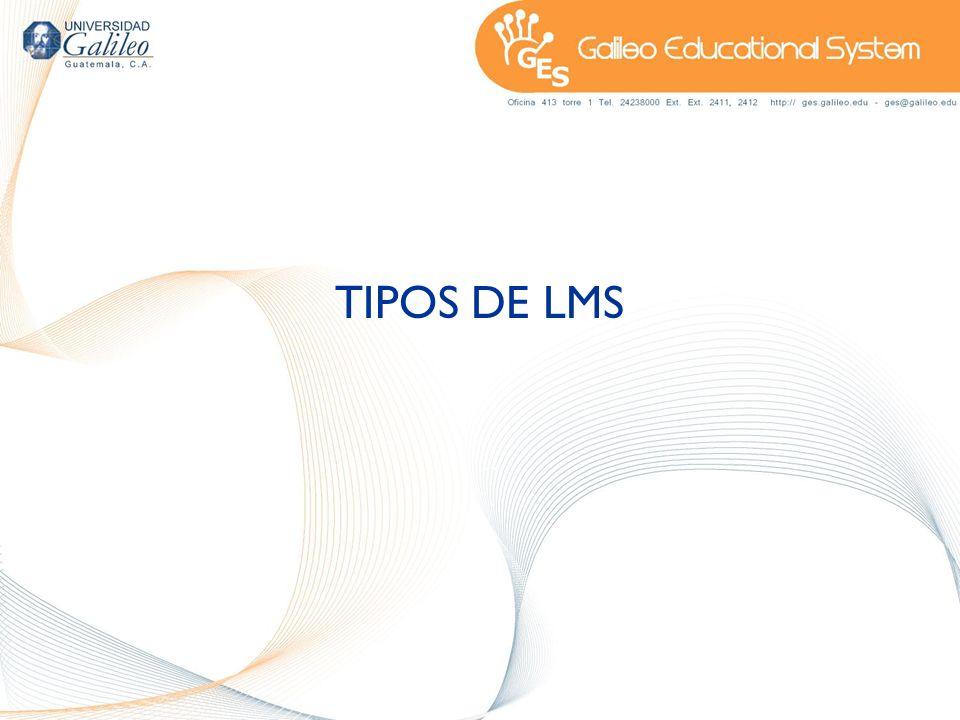 TIPOS DE LMS