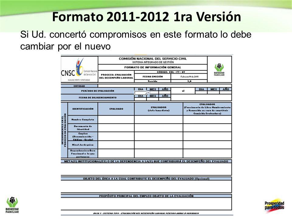 Formato 2011-2012 1ra Versión Si Ud.