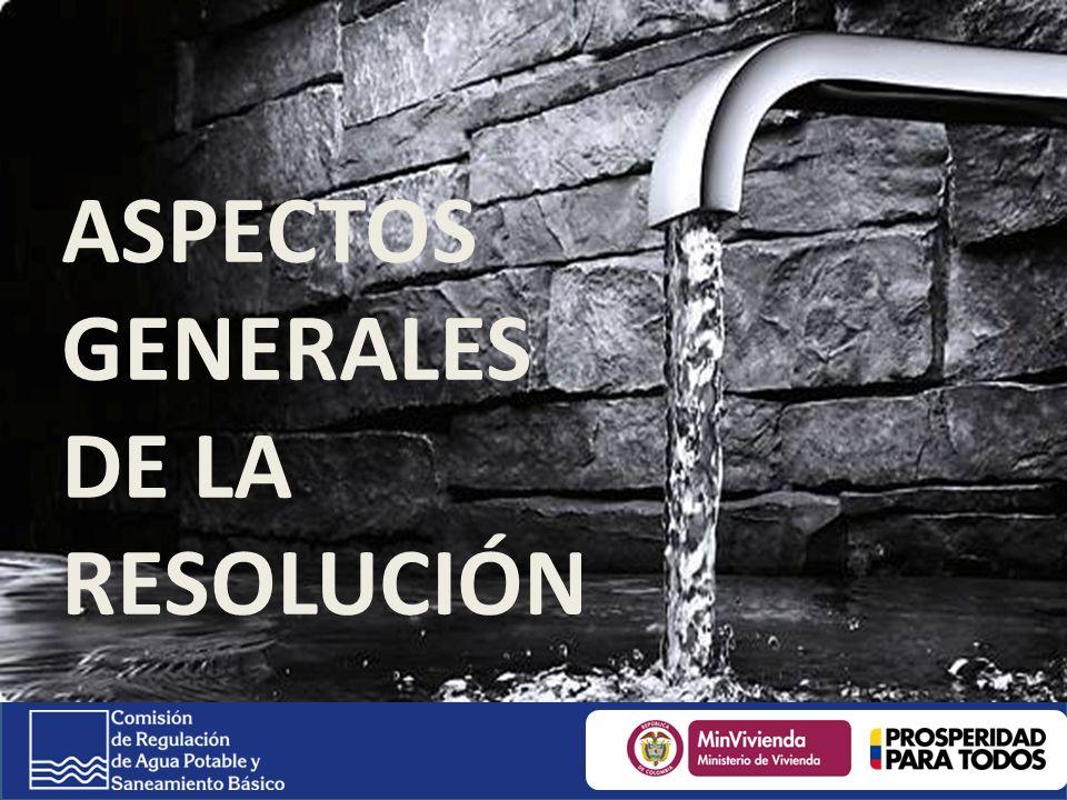 ASPECTOS GENERALES DE LA RESOLUCIÓN