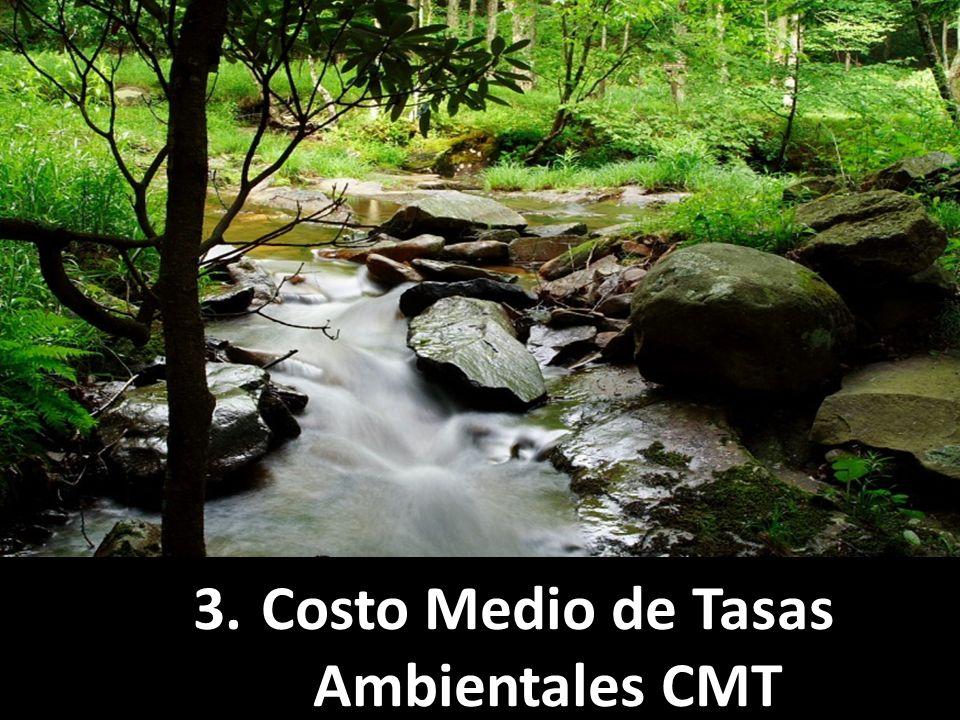 3.Costo Medio de Tasas Ambientales CMT