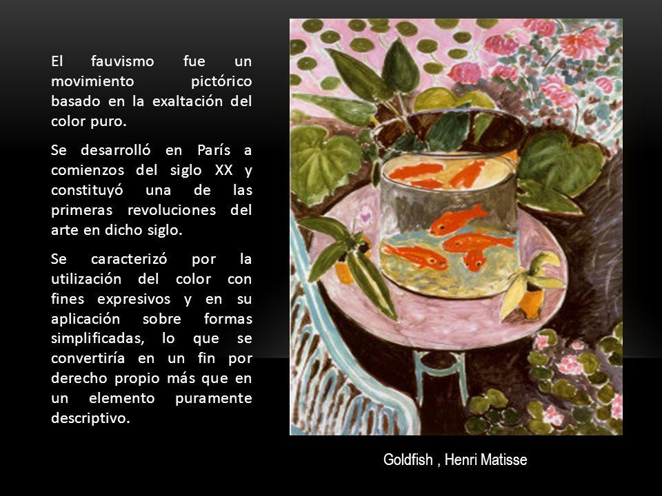 El fauvismo fue un movimiento pictórico basado en la exaltación del color puro. Se desarrolló en París a comienzos del siglo XX y constituyó una de la