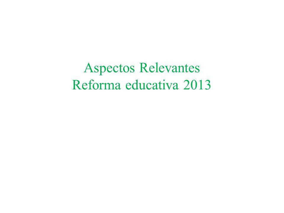 Artículos Transitorios Artículo Tercero.- Se establece un plazo de 6 meses contados a partir de la fecha de publicación del decreto para expedir la Ley del Instituto Nacional para la Evaluación de la Educación y las Reformas a la Ley General de Educación.