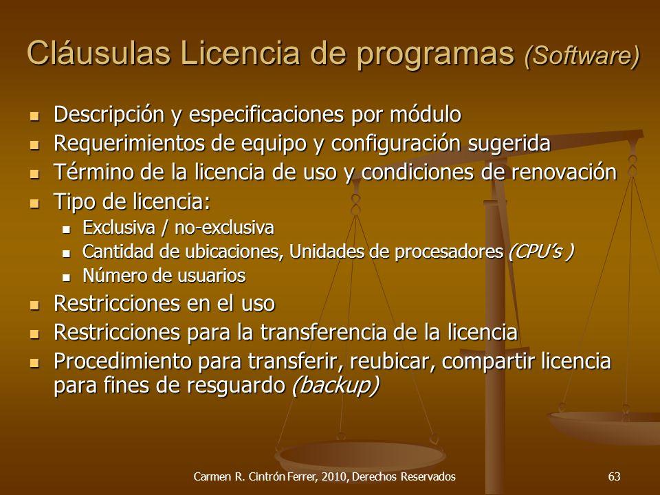 Descripción y especificaciones por módulo Descripción y especificaciones por módulo Requerimientos de equipo y configuración sugerida Requerimientos d
