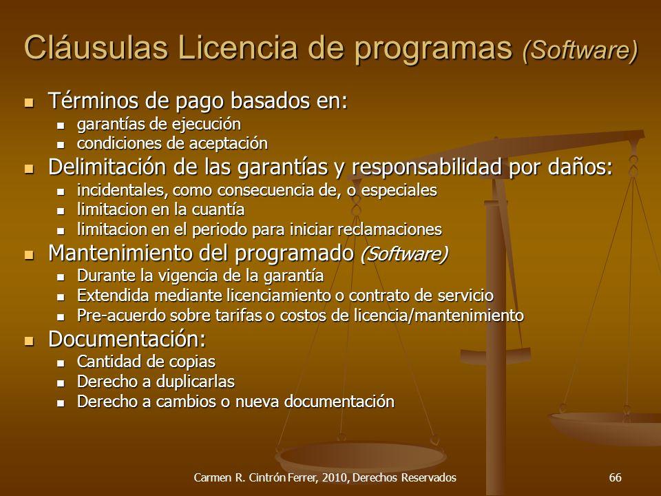 Términos de pago basados en: Términos de pago basados en: garantías de ejecución garantías de ejecución condiciones de aceptación condiciones de acept