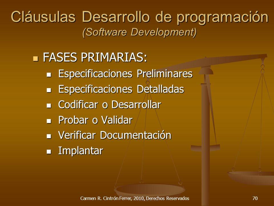 FASES PRIMARIAS: FASES PRIMARIAS: Especificaciones Preliminares Especificaciones Preliminares Especificaciones Detalladas Especificaciones Detalladas