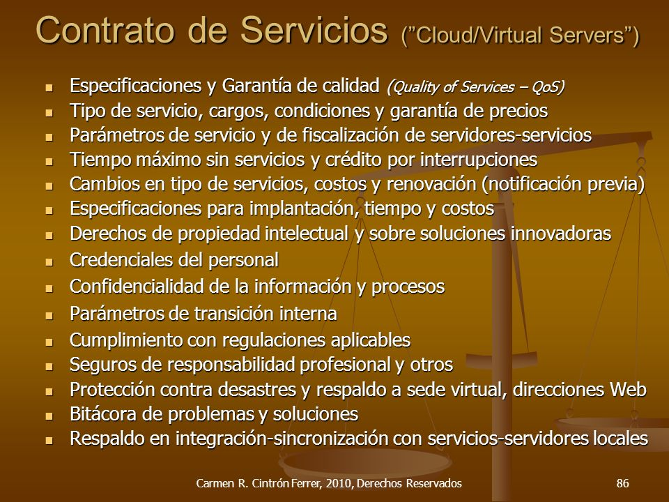 Contrato de Servicios (Cloud/Virtual Servers) Carmen R.