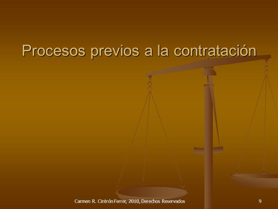 Tipos de cláusulas Generales Generales Especiales Especiales Por tipo de contrato Por tipo de contrato Carmen R.