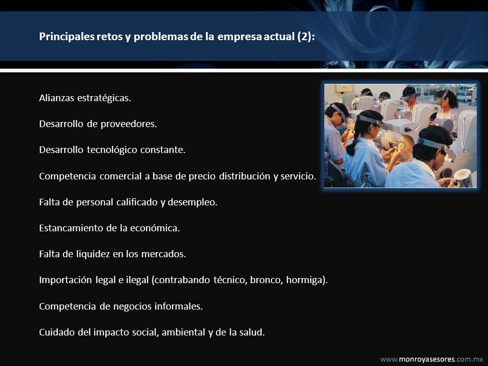 Las siete principales necesidades o retos de la empresa No.NECESIDAD O RETOEN QUE CONSISTE 1.
