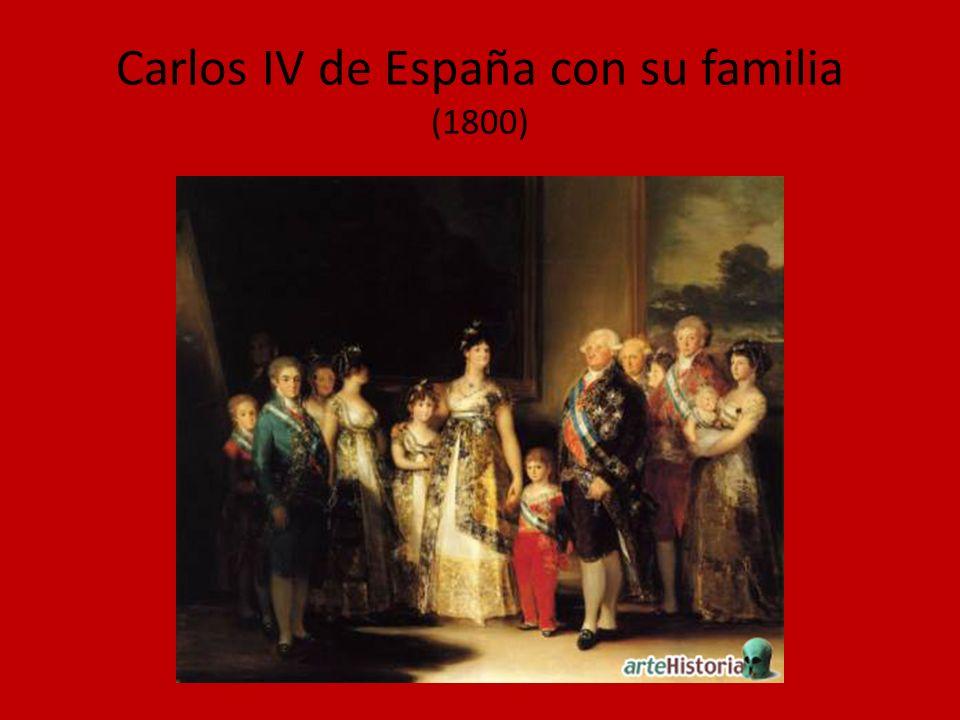 Carlos IV de España con su familia (1800)