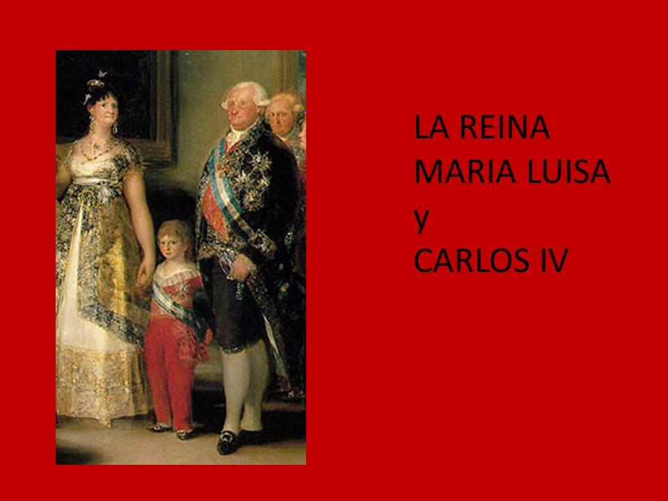 LA REINA MARIA LUISA y CARLOS IV