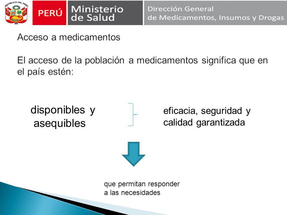 Accesibilidad geográfica Disponibilidad Aceptabilidad Asequibilidad
