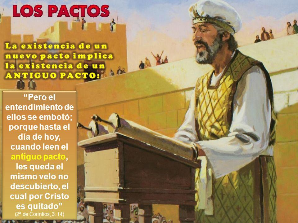 Pero el entendimiento de ellos se embotó; porque hasta el día de hoy, cuando leen el antiguo pacto, les queda el mismo velo no descubierto, el cual po