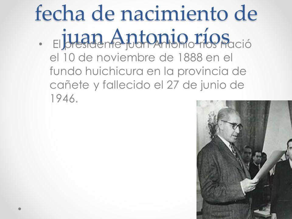 Juan Antonio ríos.