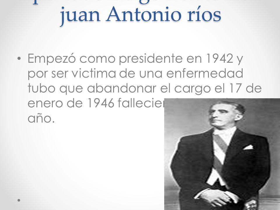 fecha de nacimiento de juan Antonio ríos El presidente juan Antonio ríos nació el 10 de noviembre de 1888 en el fundo huichicura en la provincia de ca