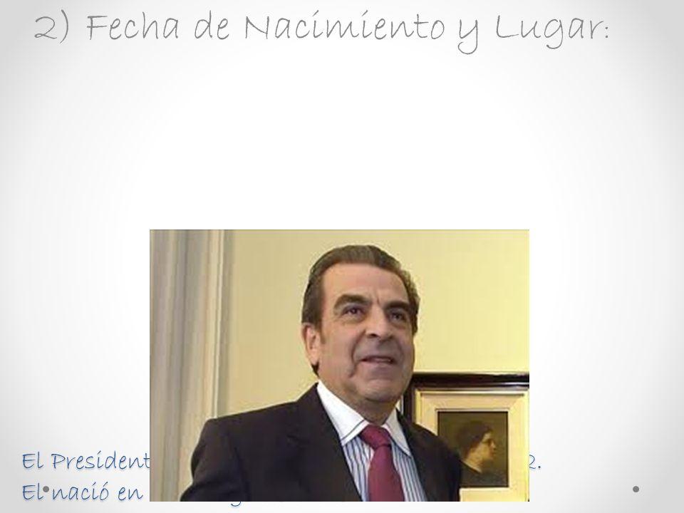 Trabajo de historia de ex presidentes de Chile: Felipe Andrés Pérez Cádiz
