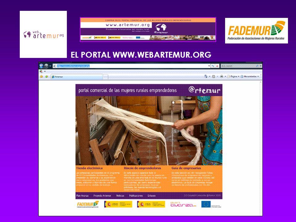 EL PORTAL WWW.WEBARTEMUR.ORG