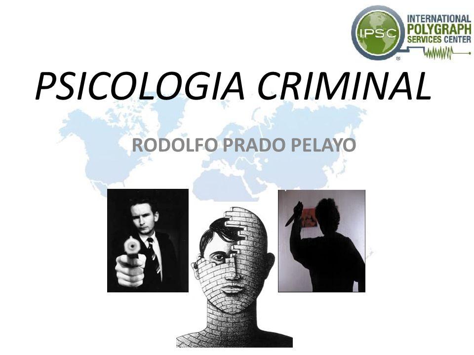 PSICOLOGIA CRIMINAL RODOLFO PRADO PELAYO
