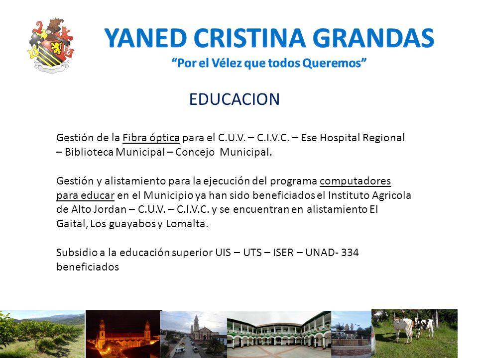 CULTURA PROYECCION Y GESTION DE LA LEY 1602 DE 2013: Remodelación y mantenimiento del Parque Nacional del folclor de Vélez Santander.