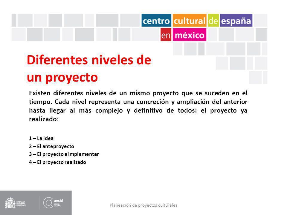 El diseño de proyectos culturales Optimizar recursos para conseguir máximos resultados.