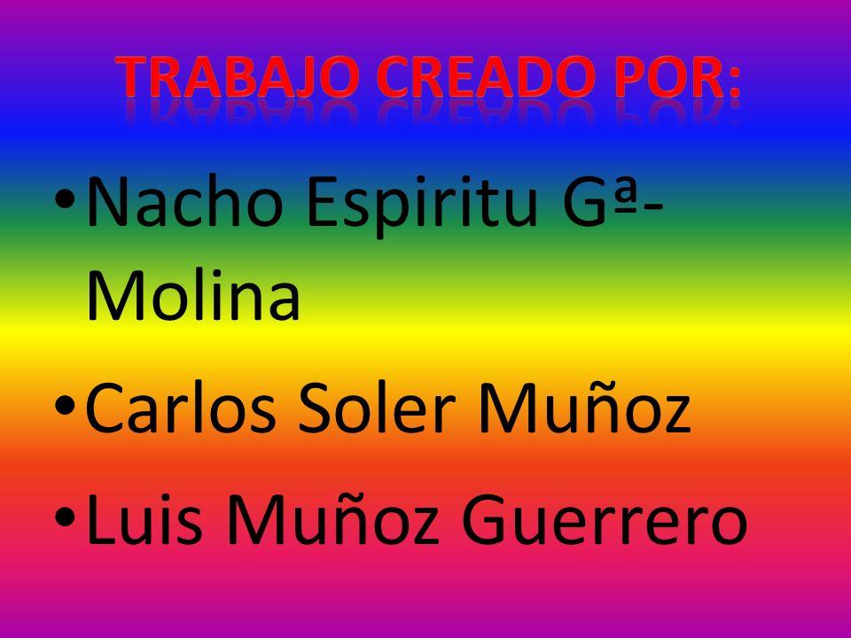 Nacho Espiritu Gª- Molina Carlos Soler Muñoz Luis Muñoz Guerrero