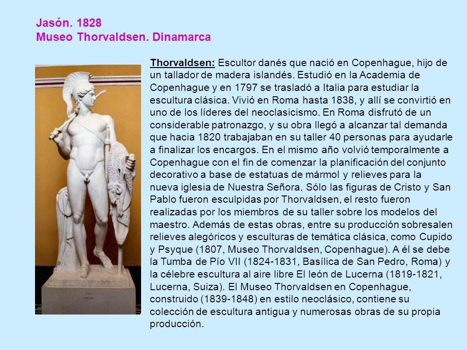 Jasón.1828 Museo Thorvaldsen.