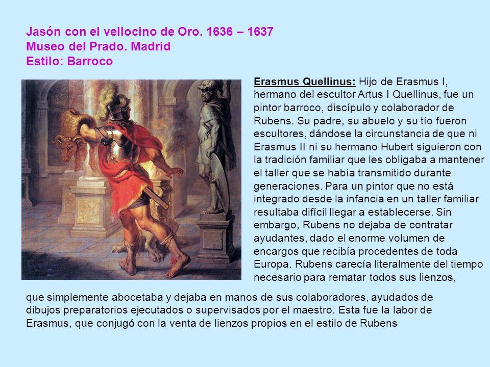 Jasón con el vellocino de Oro.1636 – 1637 Museo del Prado.