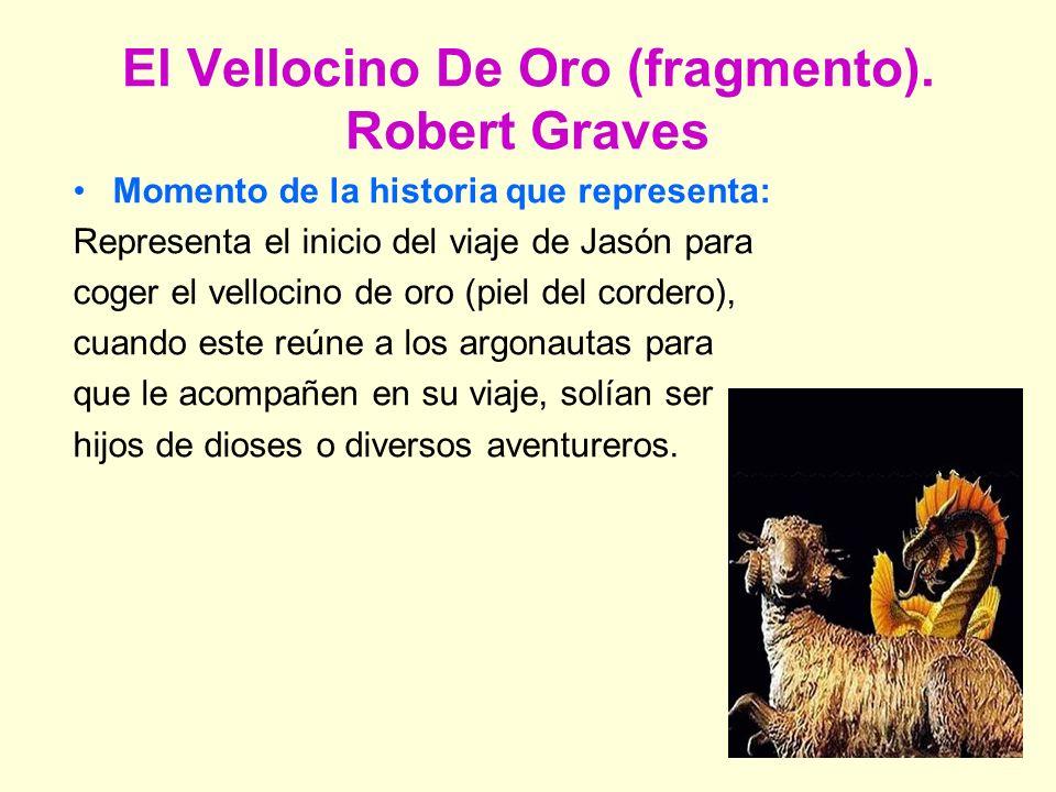 El Vellocino De Oro (fragmento).