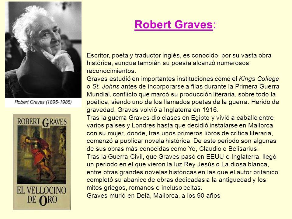 Escritor, poeta y traductor inglés, es conocido por su vasta obra histórica, aunque también su poesía alcanzó numerosos reconocimientos.