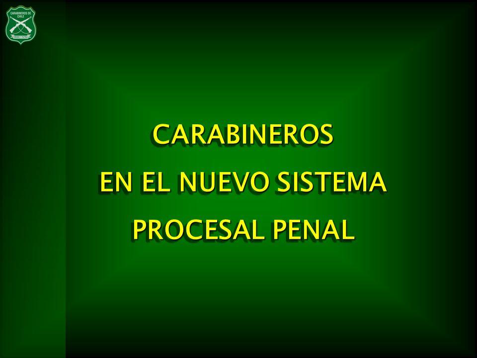 (MODERNIZACION DE LA JUSTICIA CRIMINAL) EFICIENCIA TRANSPARENCIA CERCANÍA A LAS PERSONAS NUEVO MARCO REGULATORIO Act.