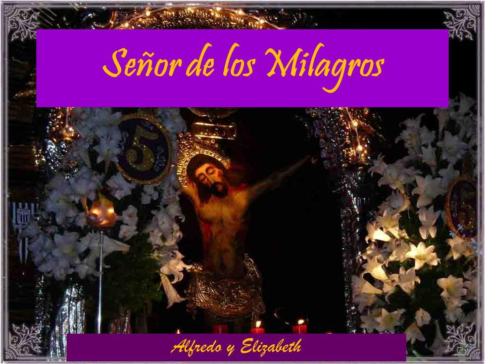 Señor de los Milagros Alfredo y Elizabeth