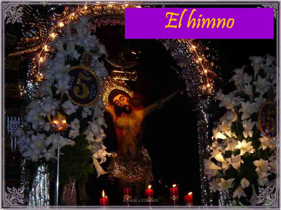 El himno 11/10/201222Alfredo y Elizabeth