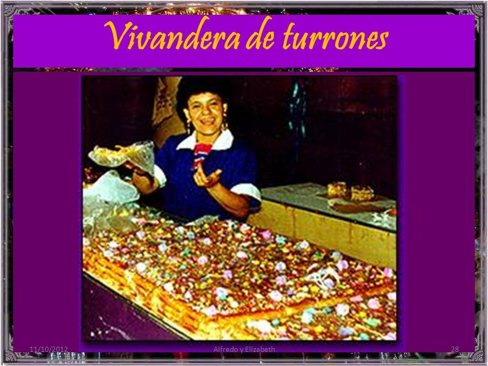 Vivandera de turrones 11/10/201228Alfredo y Elizabeth