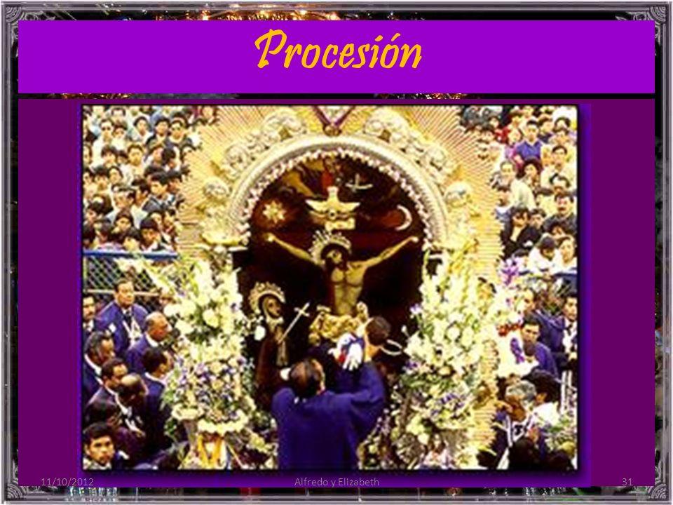 Procesión 11/10/201231Alfredo y Elizabeth