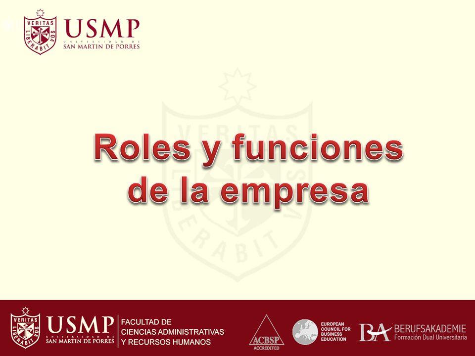 Roles de la empresa La empresa es un agente económico que constituye uno de los pilares fundamentales de la actividad económica.