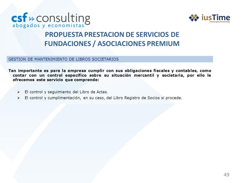 49 GESTION DE MANTENIMIENTO DE LIBROS SOCIETARIOS Tan importante es para la empresa cumplir con sus obligaciones fiscales y contables, como contar con