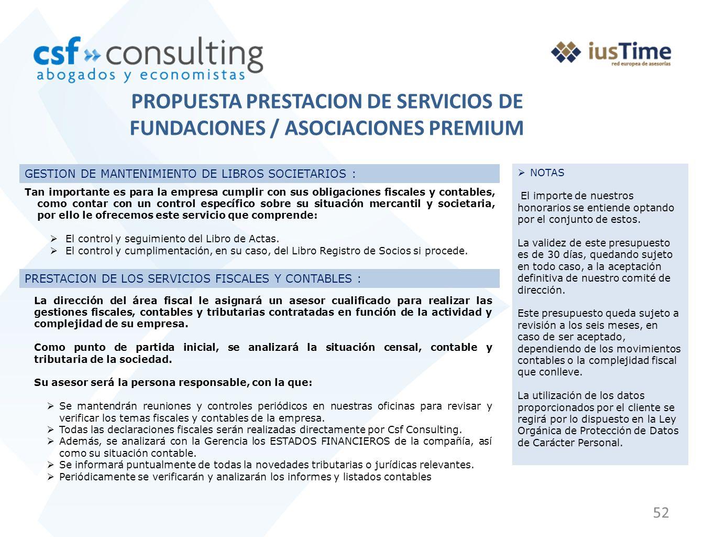 52 PRESTACION DE LOS SERVICIOS FISCALES Y CONTABLES : GESTION DE MANTENIMIENTO DE LIBROS SOCIETARIOS : Tan importante es para la empresa cumplir con s
