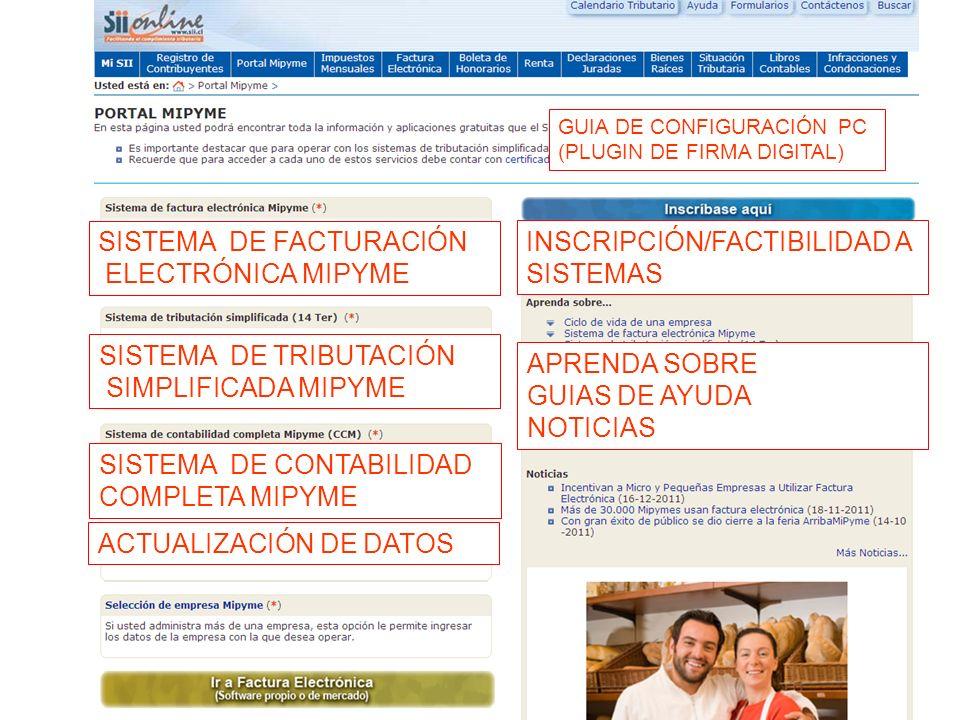 28 SISTEMA DE FACTURACIÓN ELECTRÓNICA MIPYME SISTEMA DE TRIBUTACIÓN SIMPLIFICADA MIPYME SISTEMA DE CONTABILIDAD COMPLETA MIPYME ACTUALIZACIÓN DE DATOS