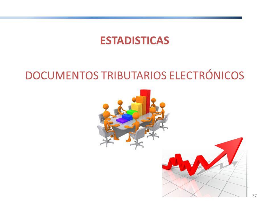 ESTADISTICAS DOCUMENTOS TRIBUTARIOS ELECTRÓNICOS 37