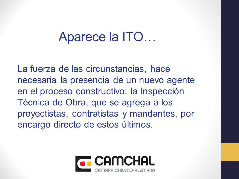 Aparece la ITO… La fuerza de las circunstancias, hace necesaria la presencia de un nuevo agente en el proceso constructivo: la Inspección Técnica de O