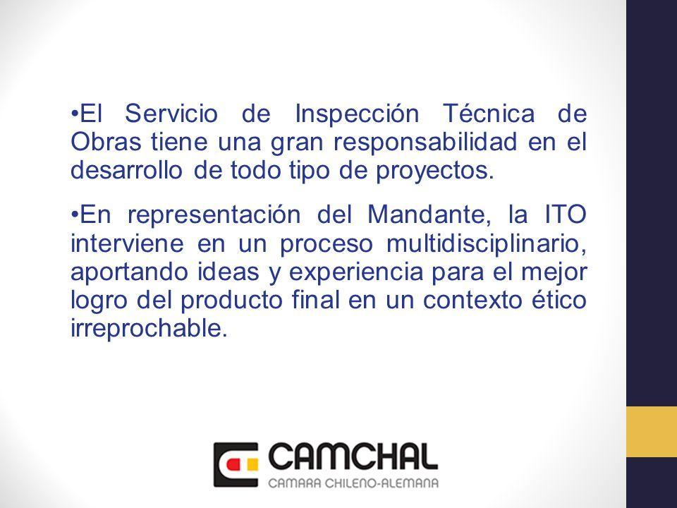 El Servicio de Inspección Técnica de Obras tiene una gran responsabilidad en el desarrollo de todo tipo de proyectos. En representación del Mandante,