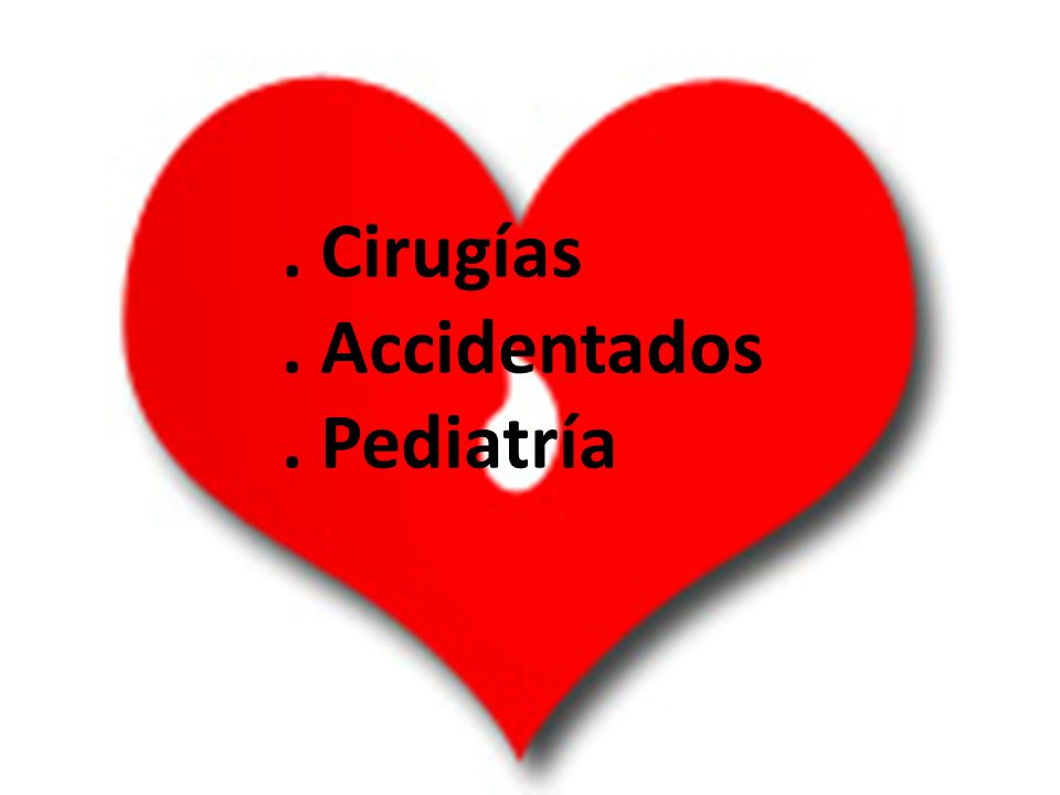 . Cirugías. Accidentados. Pediatría