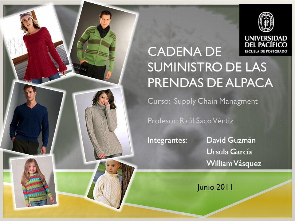 ANTECEDENTES: Destinos de productos alpaqueros que Perú exporta.