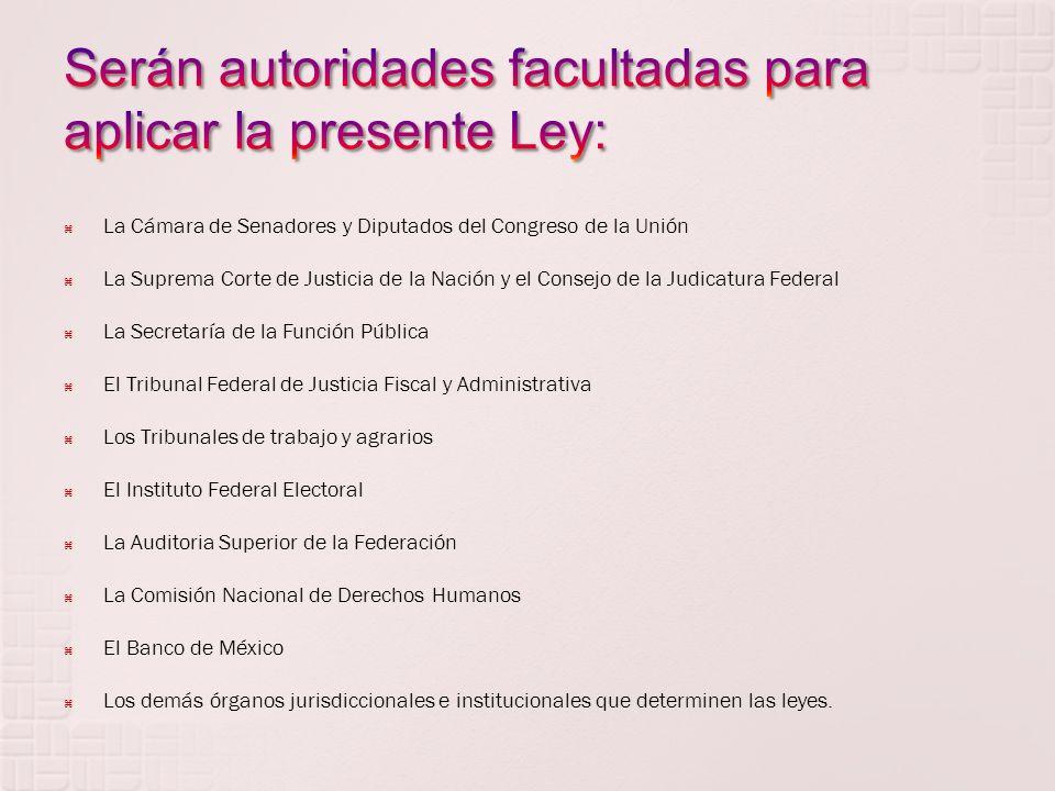 Esta Ley tiene por objeto reglamentar el Título Cuarto de la Constitución Política de los Estados Unidos Mexicanos, en materia de: I.- Los sujetos de